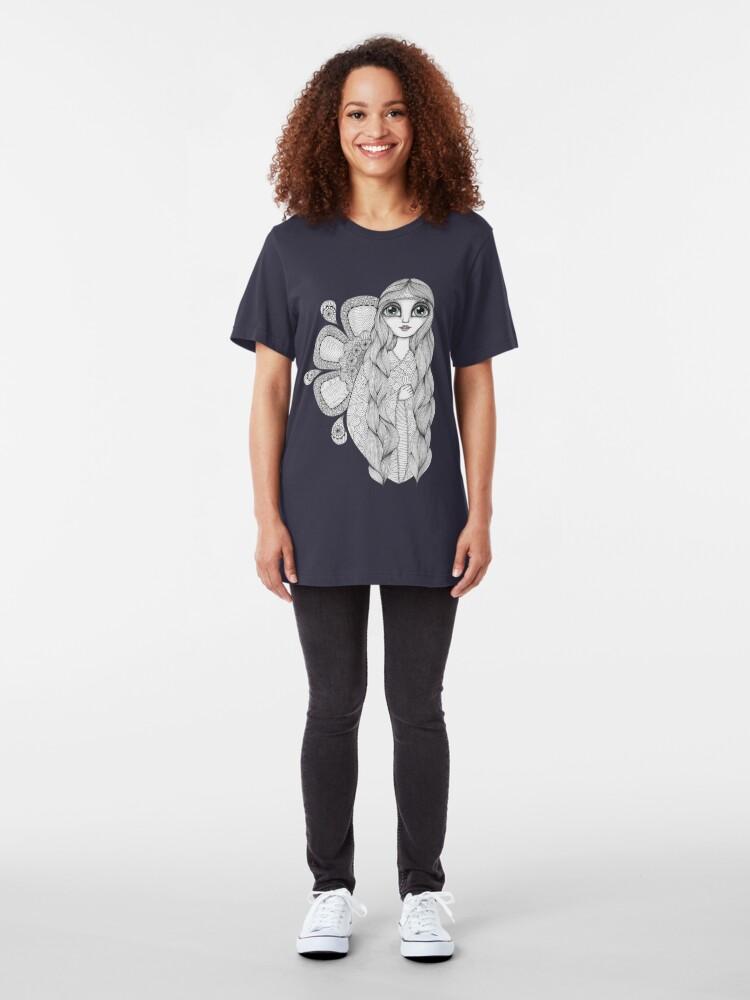 Alternate view of Sunshine Girl Slim Fit T-Shirt