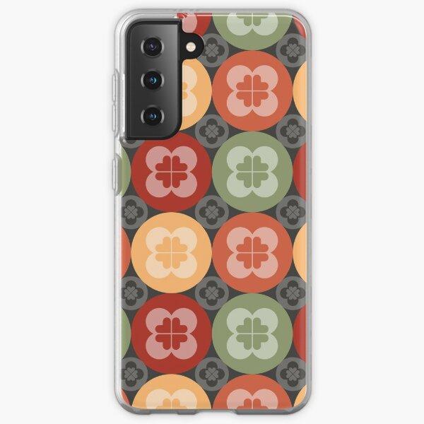 Geometric Pattern: Flower Circle: Arcadia Samsung Galaxy Soft Case