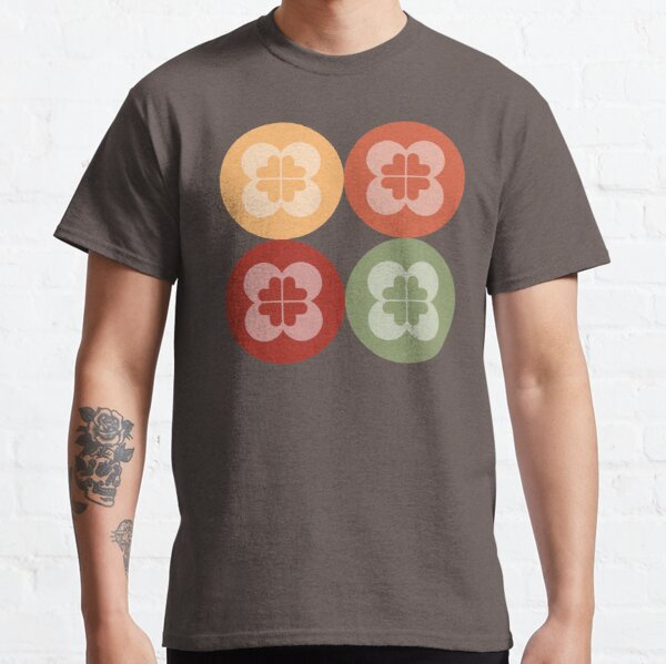 Geometric Pattern: Flower Circle: Arcadia Classic T-Shirt