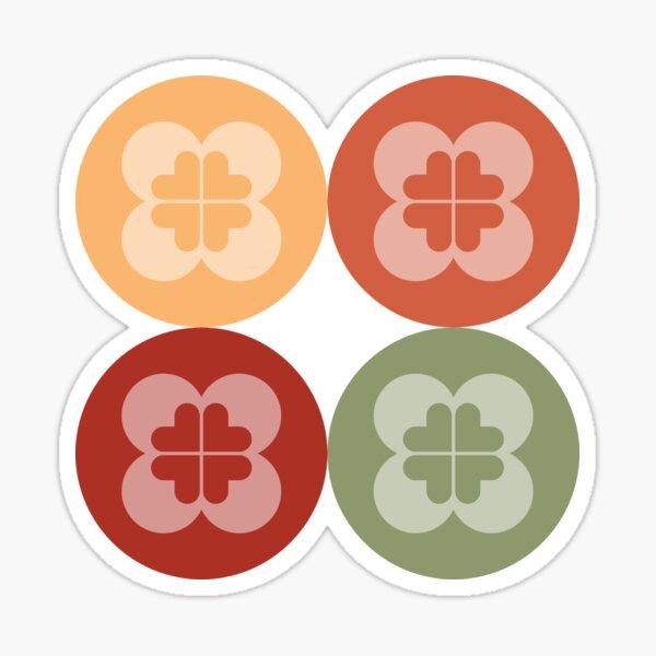 Geometric Pattern: Flower Circle: Arcadia Sticker