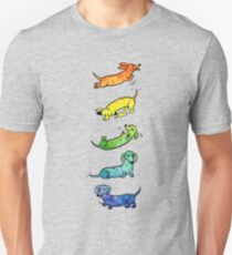 Watercolor Dachshunds T-Shirt