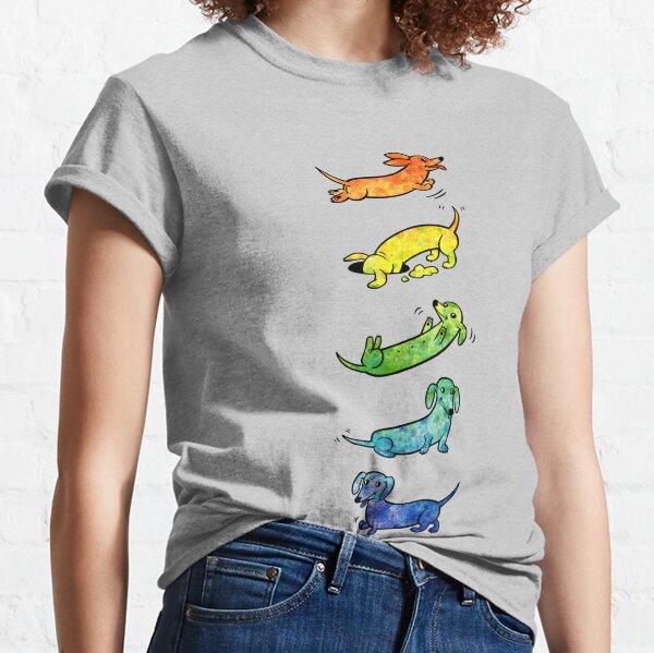 Watercolor Dachshunds Classic T-Shirt