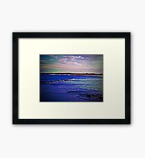 Carry Me By The Ocean Framed Print