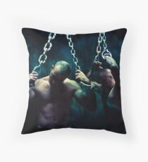 Switly now, on to the gates of death Throw Pillow