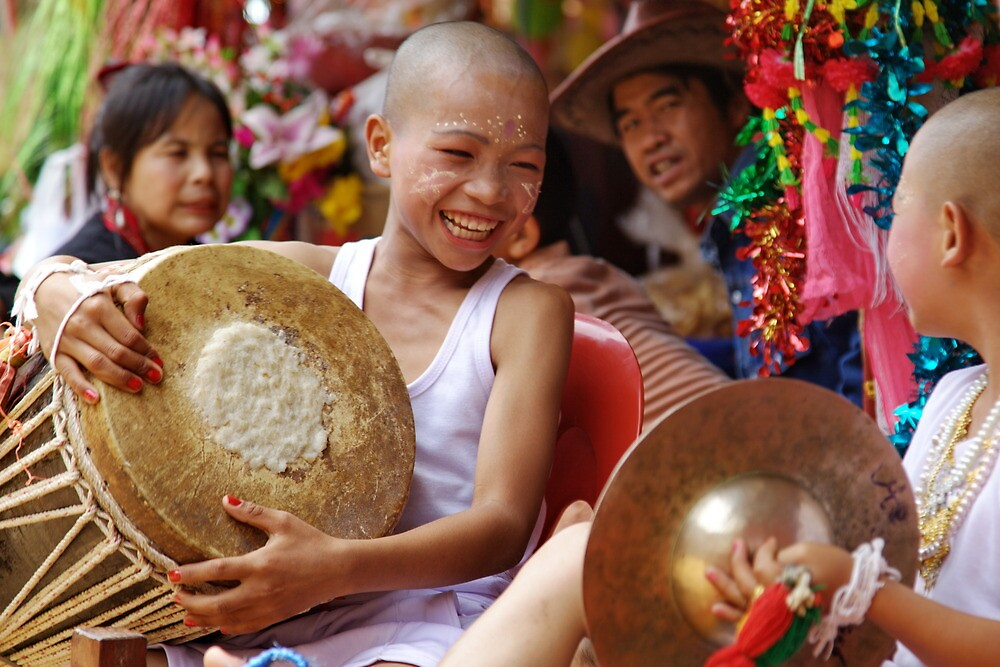 Shan Poy Sang Long festival, Thailand by John Spies