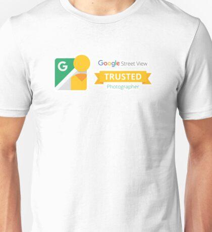 Google Maps   Street View   Trusted Photographer Unisex T-Shirt
