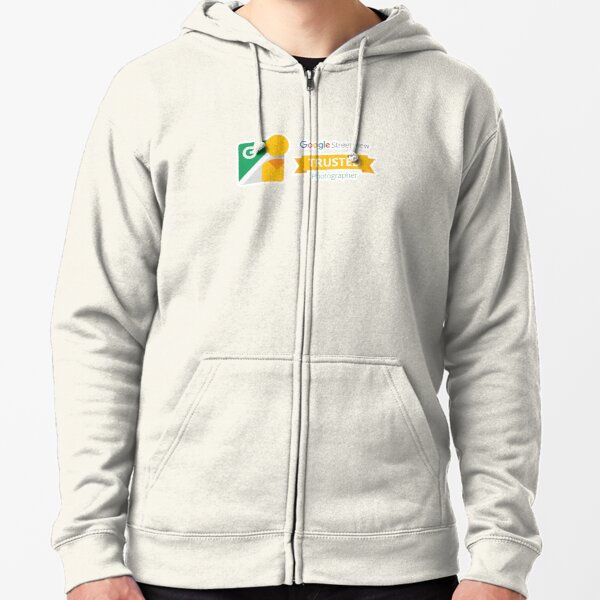 Google Maps | Street View | Trusted Photographer Zipped Hoodie