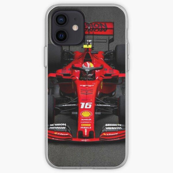 Charles Leclerc au Grand Prix de Monaco 2019. Coque souple iPhone