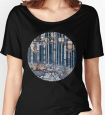 Owl Forest Women's Relaxed Fit T-Shirt
