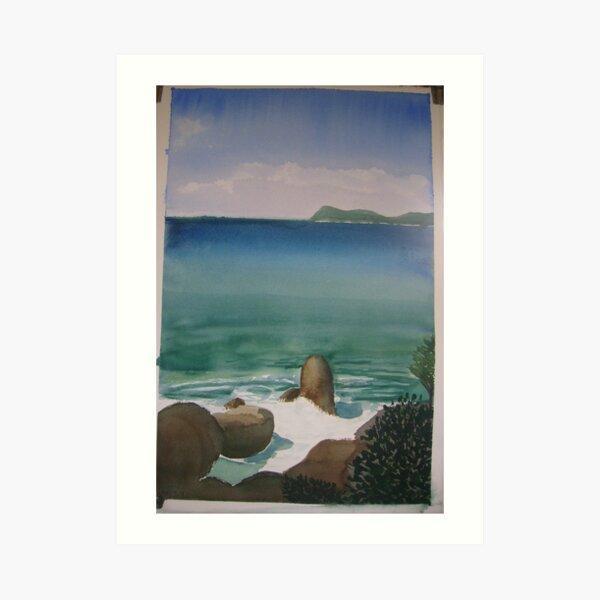 Little Waterloo Bay  (March 2011) Art Print