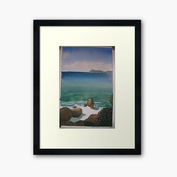 Little Waterloo Bay  (March 2011) Framed Art Print