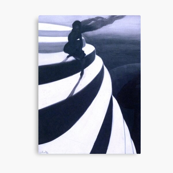 Léon Spilliaert - Vertigo - The Dizziness - De duizeling Canvas Print
