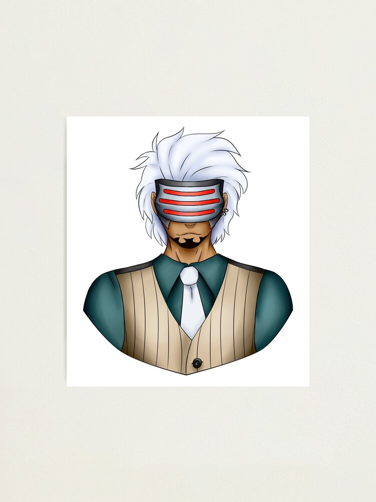 Prosecutor Godot Ace Attorney Photographic Print By Timonstorm