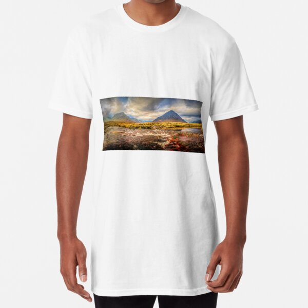 Buachaille And The River Etive Long T-Shirt