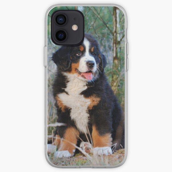 Bernese Mountain Dog puppy iPhone Soft Case