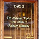 Railway Company Office Door by Buckwhite