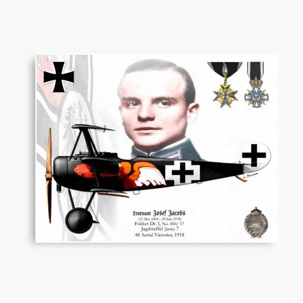 Leutnant Josef Jacobs Canvas Print