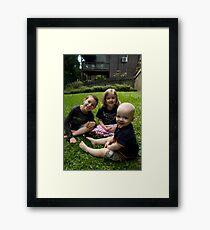 All Smiles Framed Print