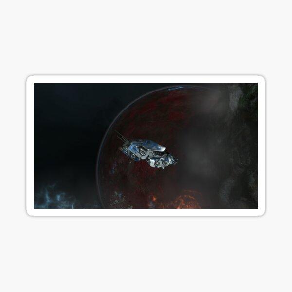 Raumschiff Sticker