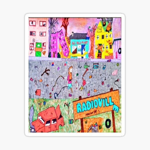 Constantine Collection - Radioville Sticker