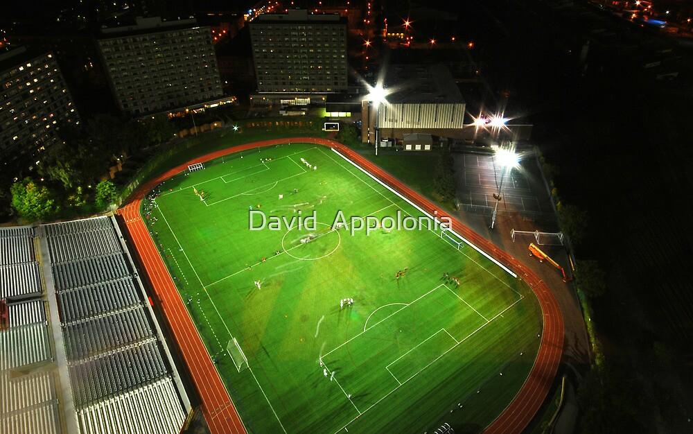 Boston University Nickerson Field by David  Appolonia