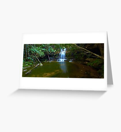 The Bottom Pool - Terrace Falls Greeting Card