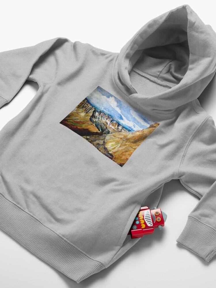 Alternate view of Mount Sneffels Toddler Pullover Hoodie