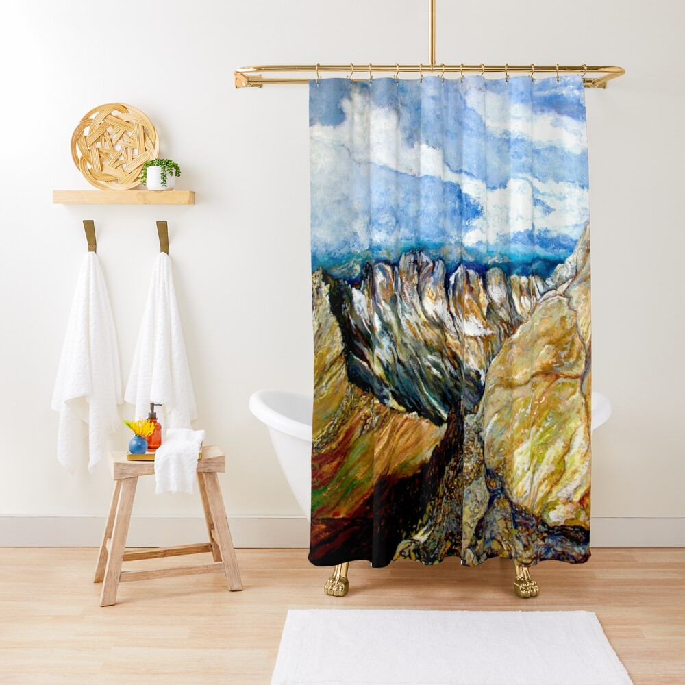 Mount Sneffels Shower Curtain