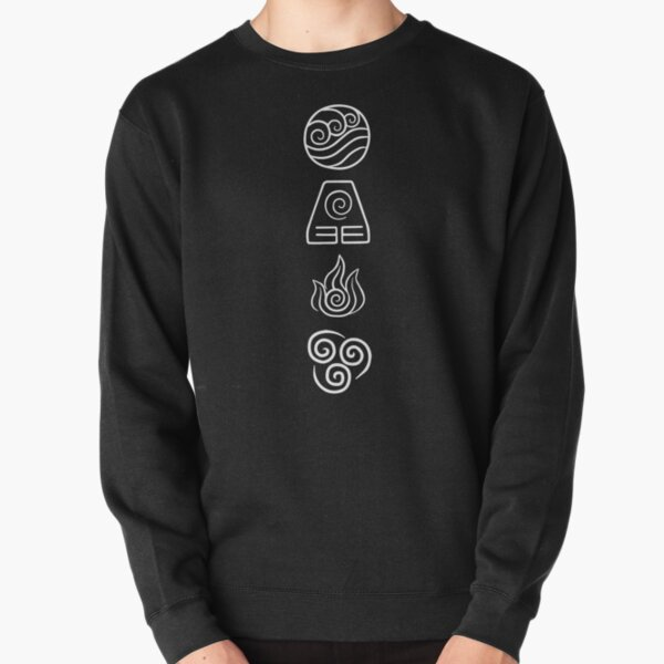 Avatar - The Four Elements Pullover Sweatshirt