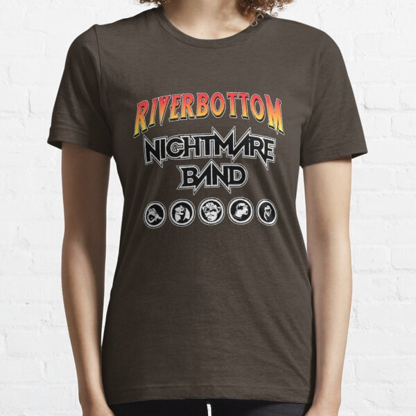 Bande de cauchemar de Riverbottom T-shirt essentiel