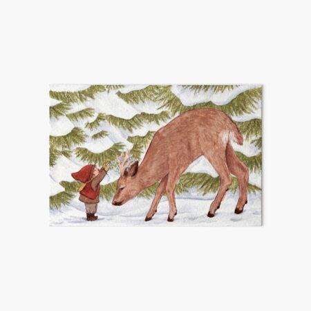 Deer Art Board Print