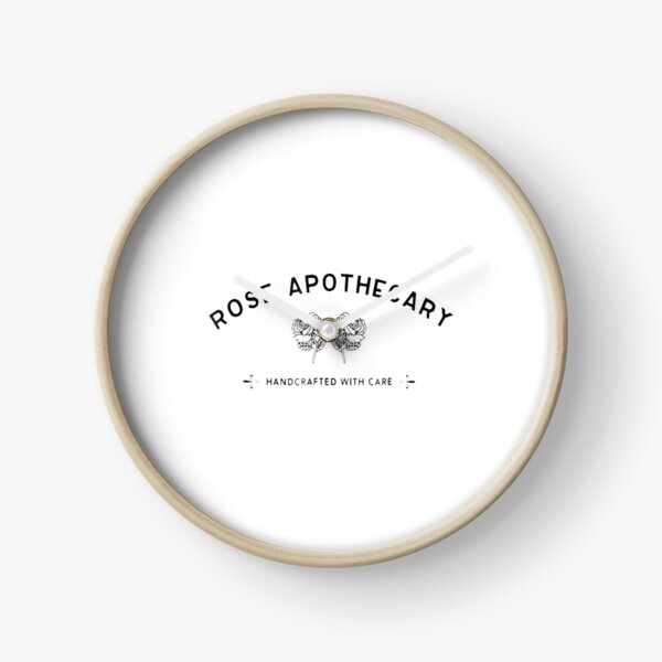 Best Seller - Rose Apothecary Logo Merchandise Clock