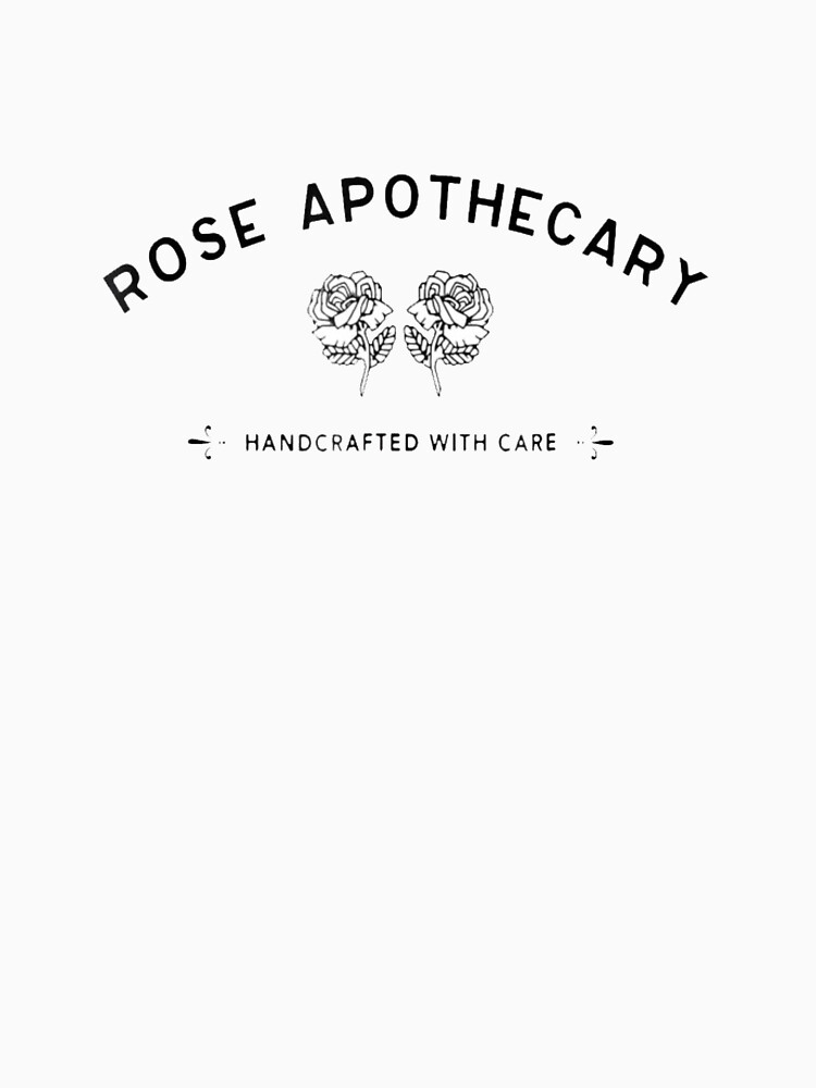 """Best Seller - Rose Apothecary Logo Merchandise"" T-shirt by SandraChee   Redbubble"