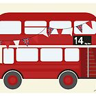 London Bus by justleiva