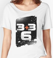 Wear and Learn 3+3 Women's Relaxed Fit T-Shirt