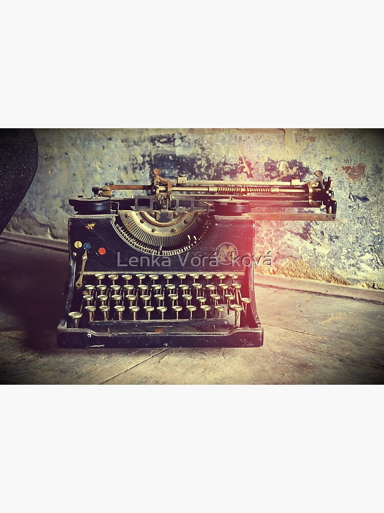 Old typewriter by Trin4ever