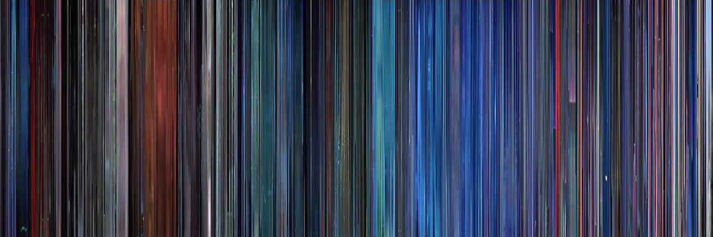 Moviebarcode: TRON (1982) by moviebarcode