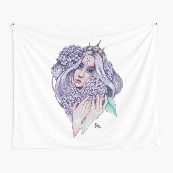 Hydrangea-Fairy Wandbehang