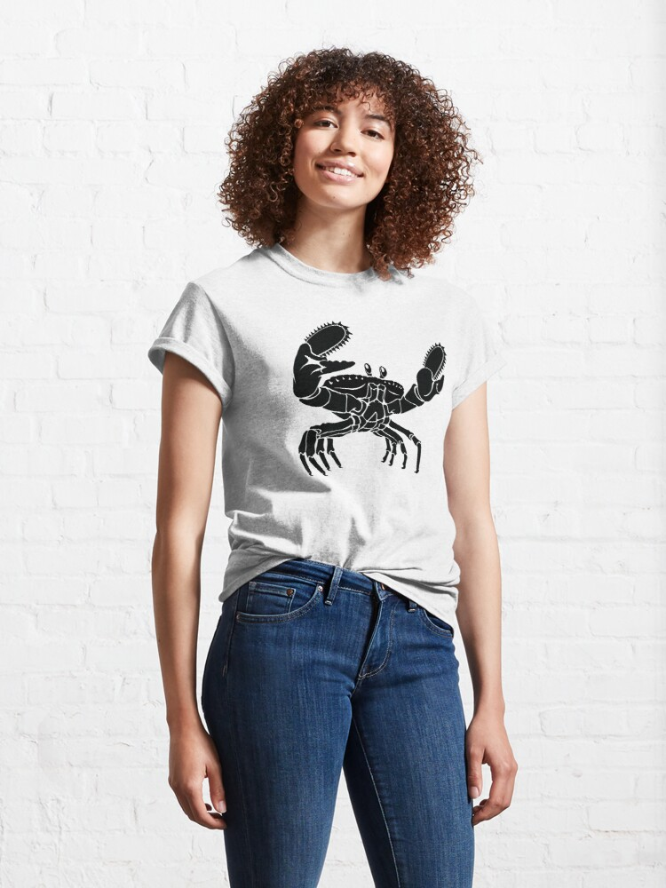 Alternate view of Crab On Acid Classic T-Shirt