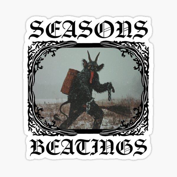 Season Beatings Sticker