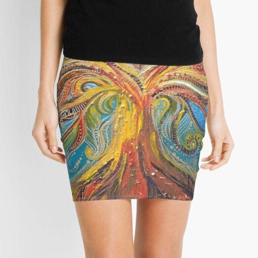 Fruit of the spirit tree Mini Skirt