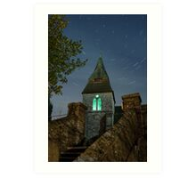 Keymer Church Startrail Art Print