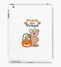 Trick Or Treat Little Girly Bear iPad Case/Skin