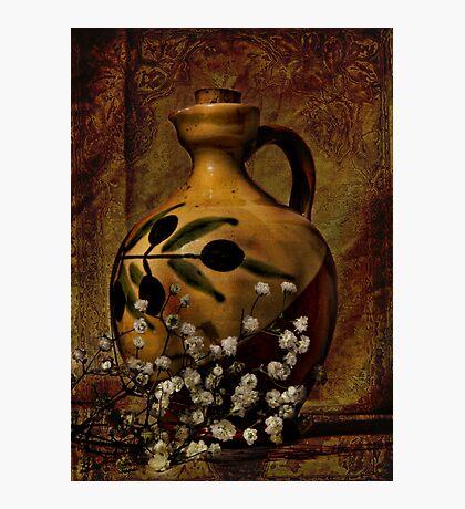 Old Jug - A still life Photographic Print