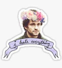 Will Graham Hates Everything. Sticker