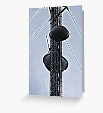 Cell Phone Tower Greeting Card