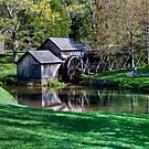 Mabry Mill First Day of Spring by J Jennelle