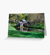 Mabry Mill First Day of Spring Greeting Card
