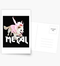 Not just perfect for Easter - Funny Metal Chihuahua Bunnies Design - Faith and Truth Postcards