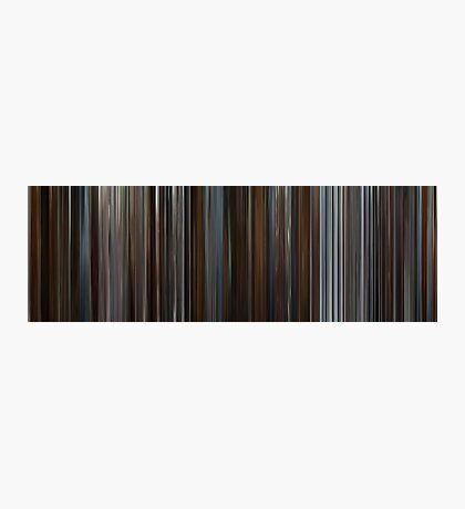 Moviebarcode: Inception (2010) Photographic Print
